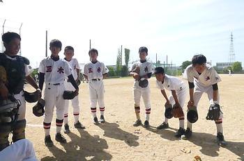 三木中、夏の部活動No.14「野球...